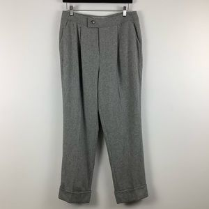 Contemporaine for Simons Wool Blend Trouser Grey
